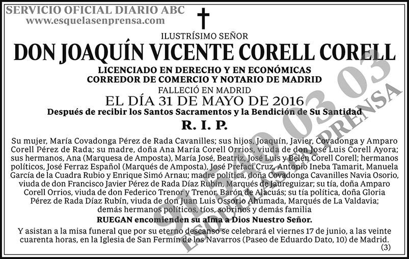 Joaquín Vicente Corell Corell